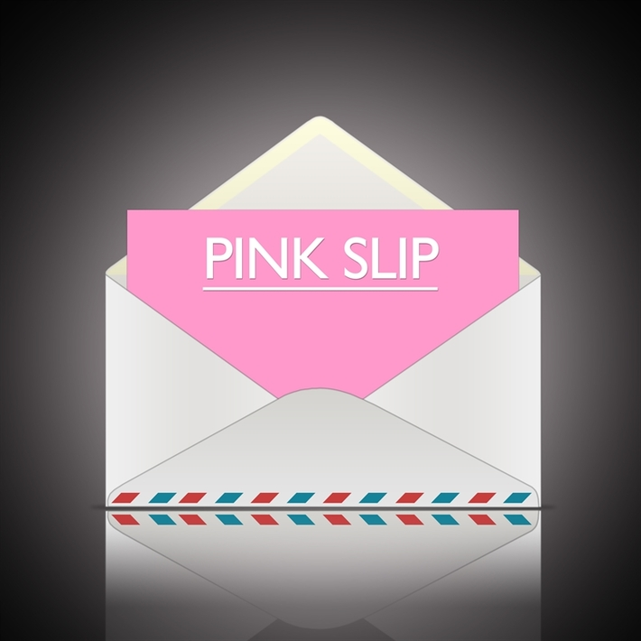 What are pink slips?