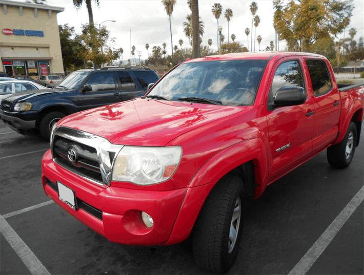 Title Loan on Your Toyota Tacoma