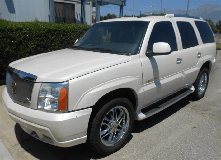 Title Loan on Your Cadillac Escalade