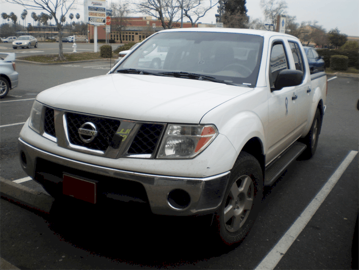 Title Loan on Your Nissan Frontier