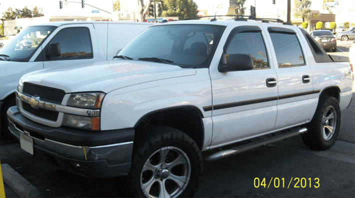 Title Loan on Your Chevrolet Avalanche