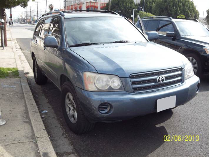 Title Loan on Your Toyota Highlander