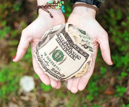 ball of cash