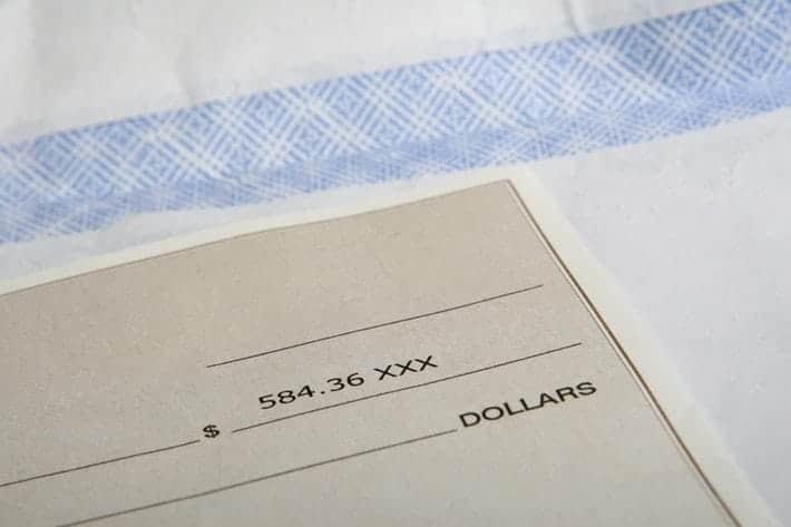 financial check